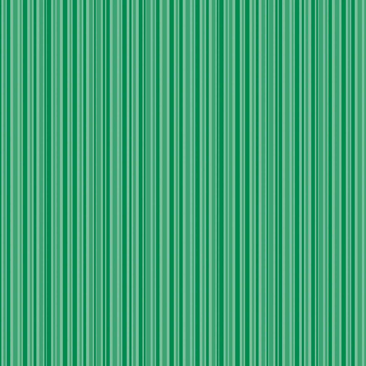 Core'dinations Core Basics Patterned Cardstock 12 X12 Inches Dark Green Stripe (12 Pack)