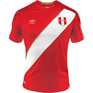 Umbro Peru Away Soccer Jersey World Cup 2018 Authentic Original