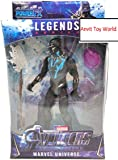 ANVITTOYWORLD Toy World End Game Union Legend 17 cm (Black Panther)