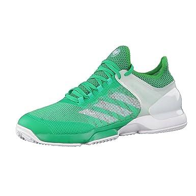 premium selection b64cc 93d5c Chaussures ADIDAS Homme Adizero Ubersonic 2.0 Clay Roland Garros Vert PE  2017  Amazon.fr  Sports et Loisirs