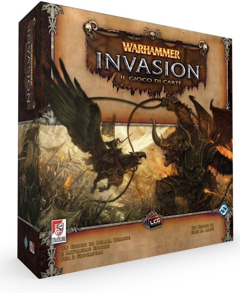 Giochi Uniti Sl0078 - Gioco Wahammer Lcg: Invasion Set Base