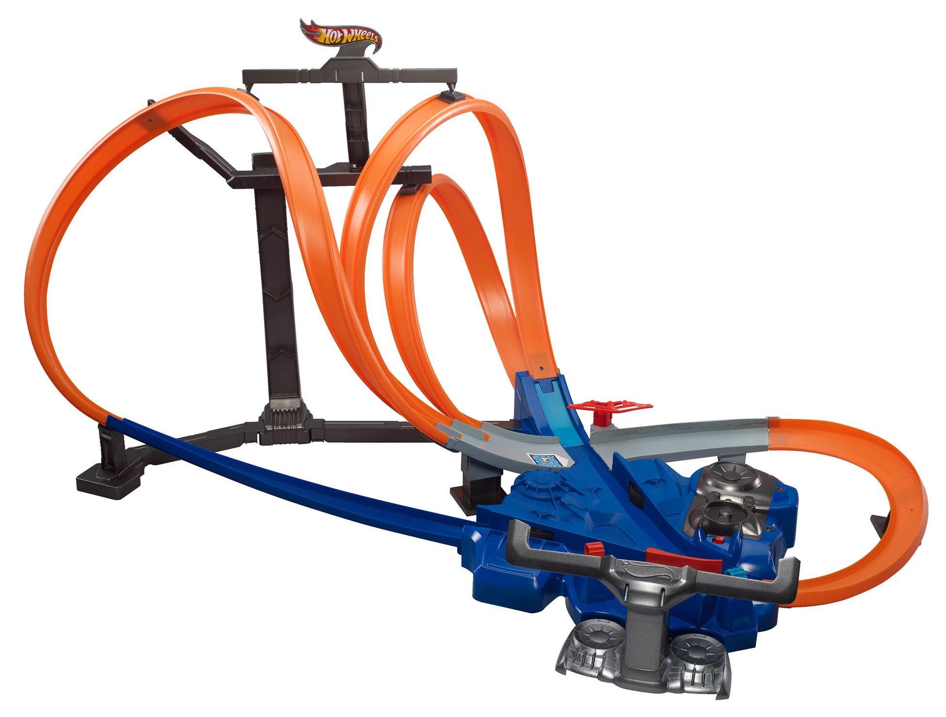Hot Wheels Triple Track Twister Track Set