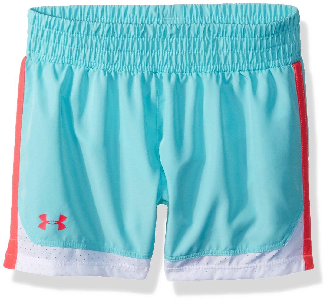 Under Armour Toddler Girls' New Run Short, Tropical Tide, 2T