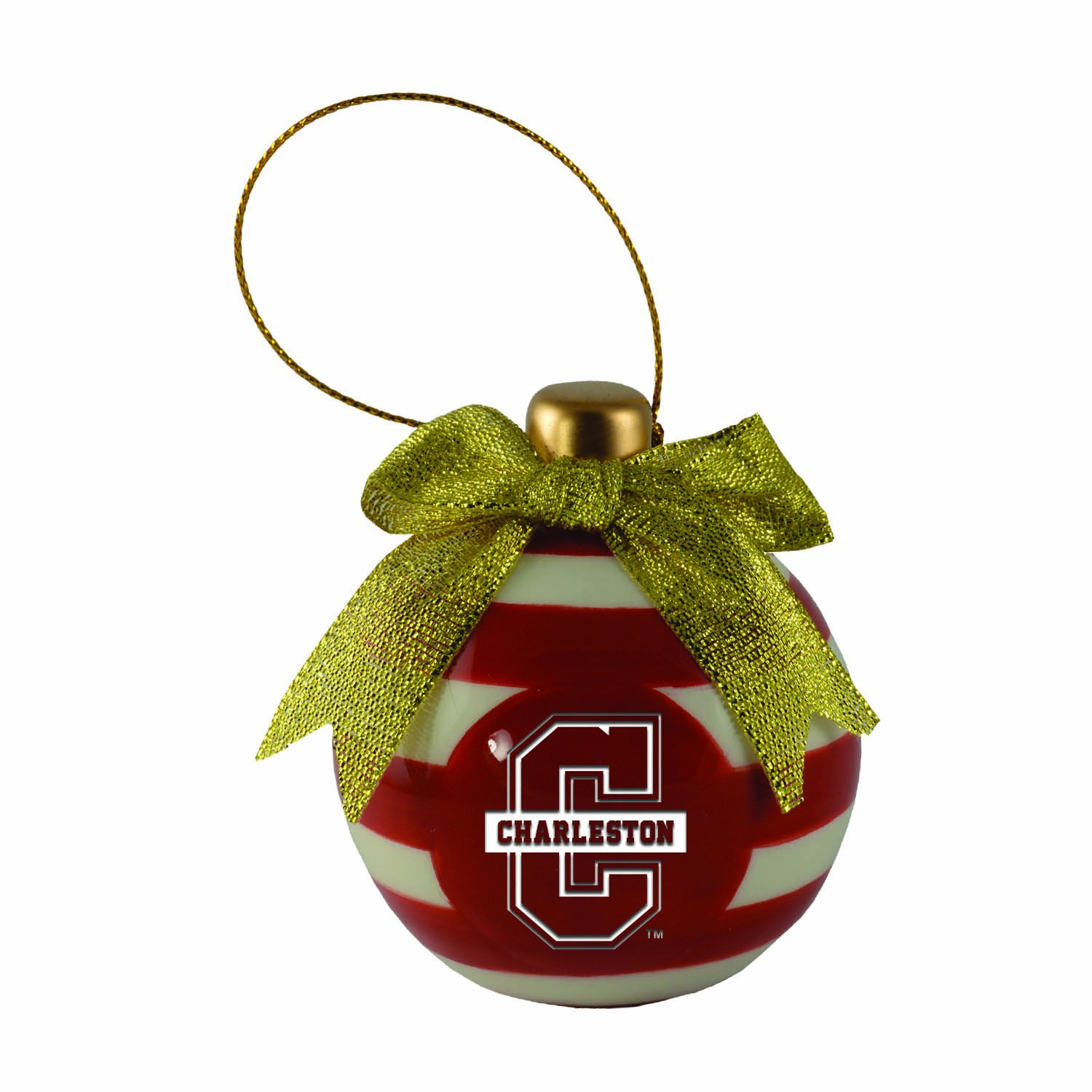 College of Charleston-Christmas Bulb Ornament by LXG, Inc. (Image #1)