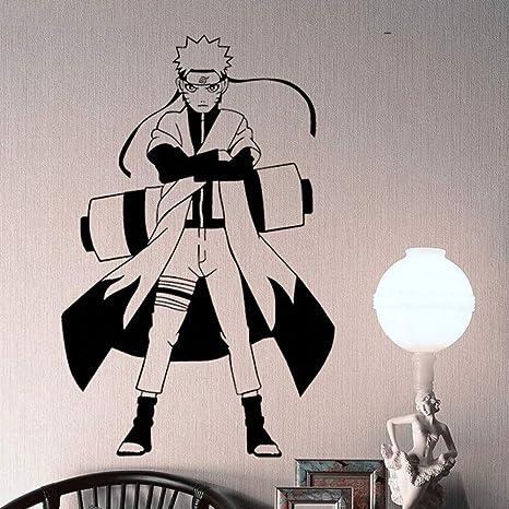 jiushizq DIY Wallpaper Ninja de Dibujos Animados Cartel de ...