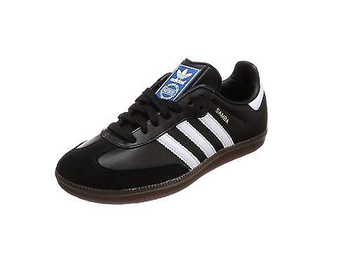 wholesale dealer fbccf c6ab6 adidas Herren Samba OG Sneaker Schwarz (Core Black FTWR White gum5),