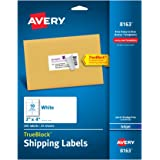 Avery Shipping Labels with TrueBlock Technology, 2 x 4, White, 250/Pack, PK - AVE8163
