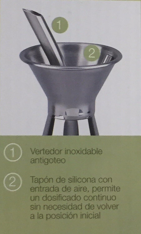 Amazon.com: 16.9 fl oz sin goteo aceite de oliva aceitera de ...