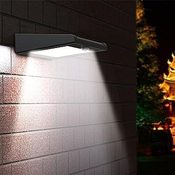 【Brightest 30 LED】Solar Light,Mulcolor Outdoor Wireless Solar Powered PIR  Motion Sensor