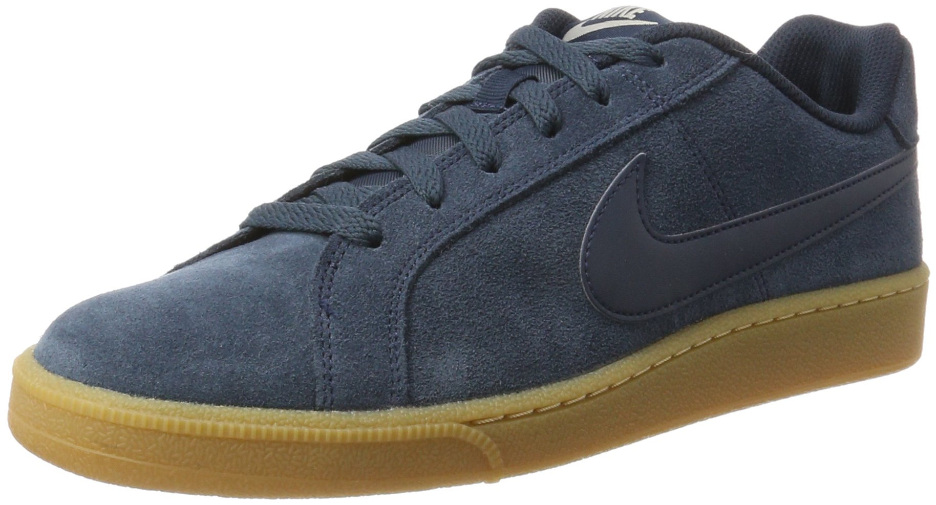 sale retailer f3965 98715 Galleon - Nike Mens Court Royale Suede Shoes Armory Navy 9.5