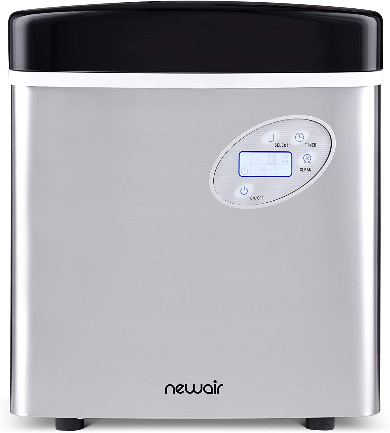 Newair AI-215SS Stainless Steel Portable Ice Maker Reviews 1