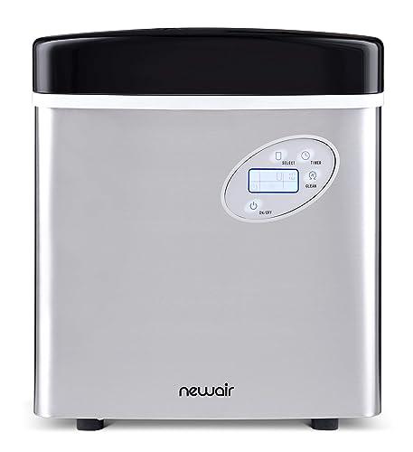 Newair Portable Ice Maker 50 Lb. Daily, Countertop Design