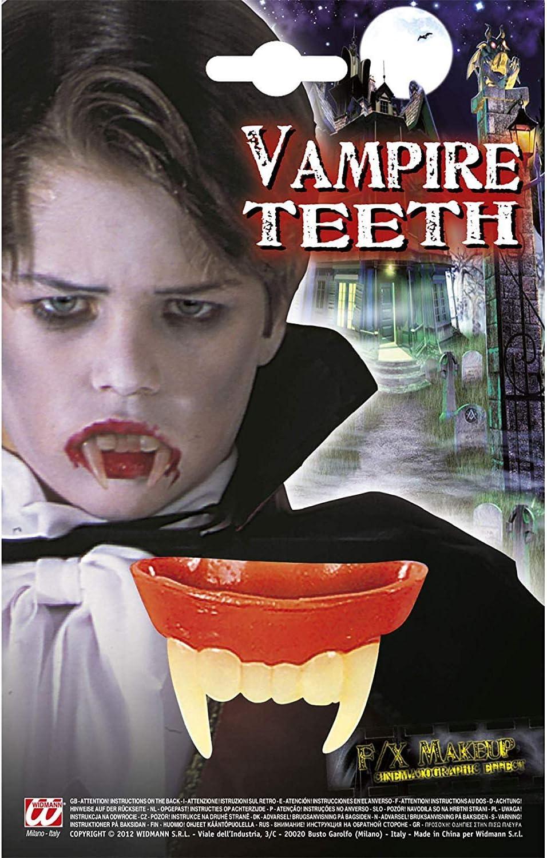 Halloween Costume Vampiro//Dracula Denti Easy Fit
