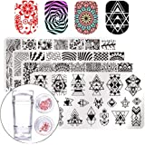 Born Pretty Nail Art Stamp Stamping Template Image Plates Set