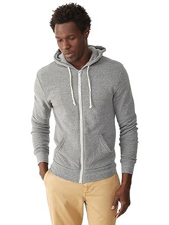 Alternative Men's Rocky Zip Hoodie Sweatshirt at Amazon Men's ...