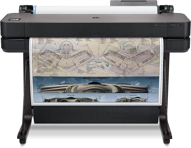 HP DesignJet T630 Large Format Wireless Plotter Printer - 36