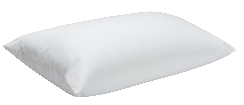 Pikolin Home - Almohada de fibra firme, antiácaros, desenfundable, 100% algodón, firmeza media-alta, 60 x 60 cm, altura 20 cm (Todas las medidas): ...