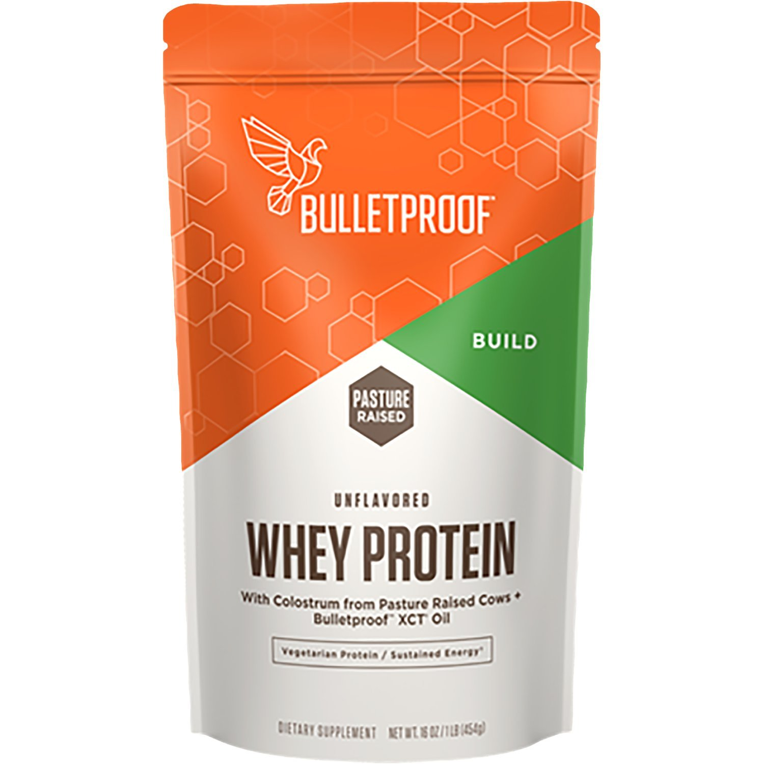 Bulletproof Whey Protein, Helps to Promote Energy All Through the Day (16 Ounces)