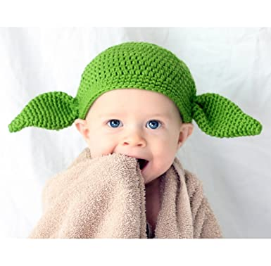 Amazon Milk Protein Cotton Yarn Handmade Star Wars Baby Yoda