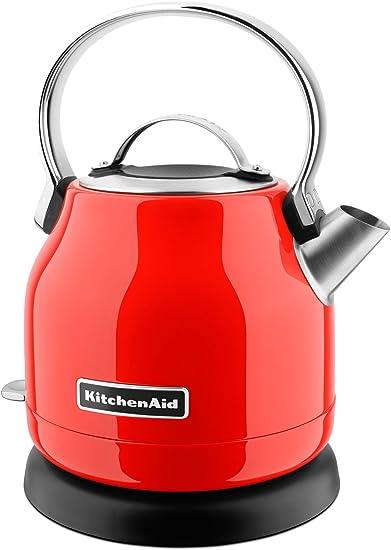 KitchenAid KEK1222HT Electric Kettle, 1.25 L, Hot Sauce
