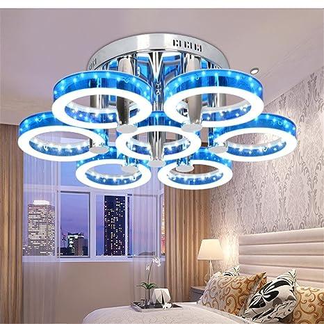 Negras @ caliente LED moderna minimalista lámparas de techo ...