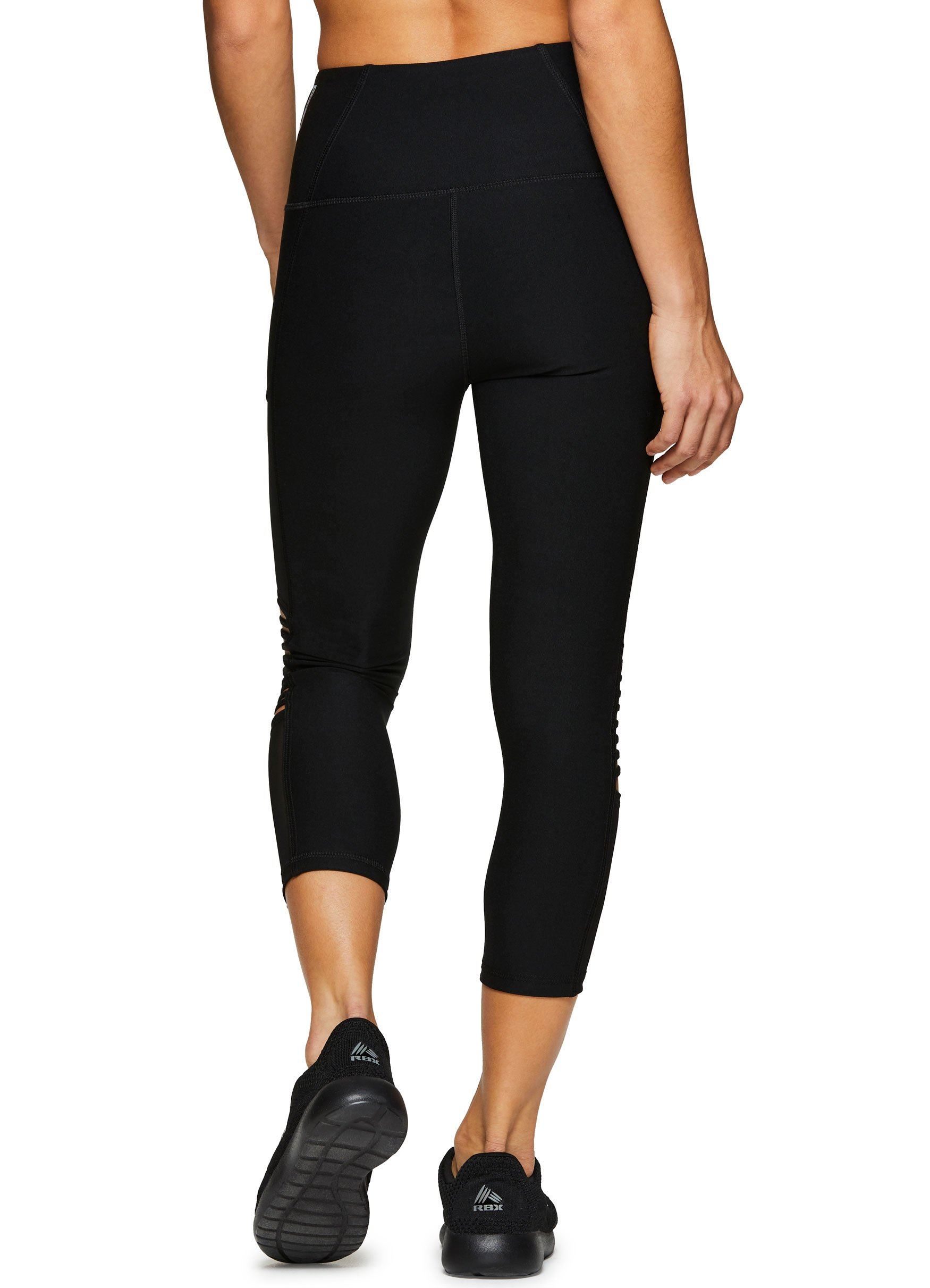 330d8a34f7d4e RBX Active Women's Workout Running Yoga Leggings Strap Black M - ACR6494A-M  < Clothing < Sports & Outdoors - tibs
