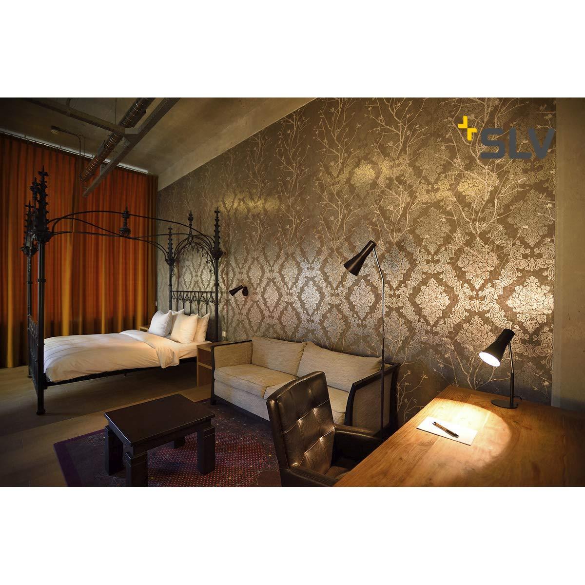 Gastfreundlich Design Stehlampe Stehleuchte Deckenfluter Lampenschirm Metall Wohnzimmer Modern Büromöbel