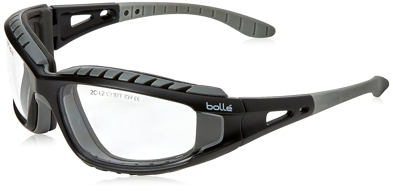 Bolle Tracker 2/II Occhiali di sicurezza, Colore Trasparente, con custodia e cordicella BOLTRACPSI