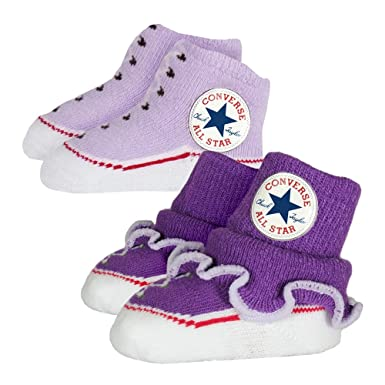 Amazon Converse Baby Bright Infant Booties 2 Pack Allium