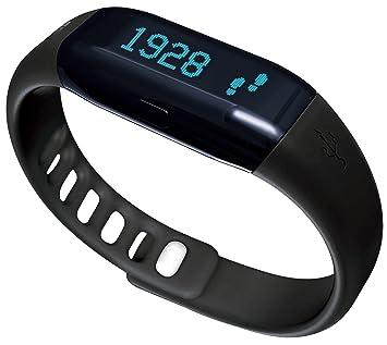 ADE Actividad Tracker Am con fitvigo App, Unisex, Aktivitätstracker Am 1600 FITvigo, Schwarz