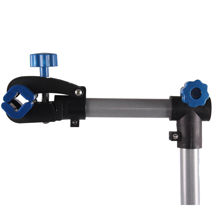 JUEYAN Support de Montage V/élo ▏Pied dAtelier dentretien de R/éparation ▏Convient /également pour Les VTT ▏Hauteur R/églable 102cm-178cm ▏Pivotant jusqu/à 360/°▏ Charge 50kg