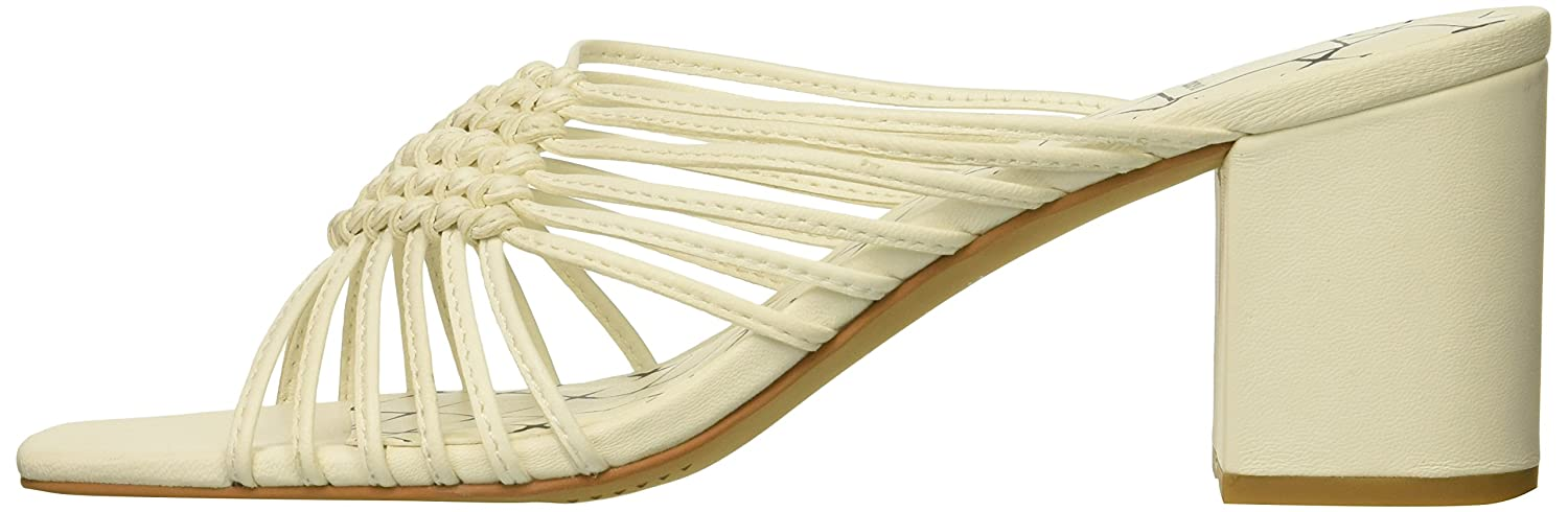 Dolce Vita Women's Delana Slide Sandal B07B9KG1G5 6.5 B(M) US|Off White Leather