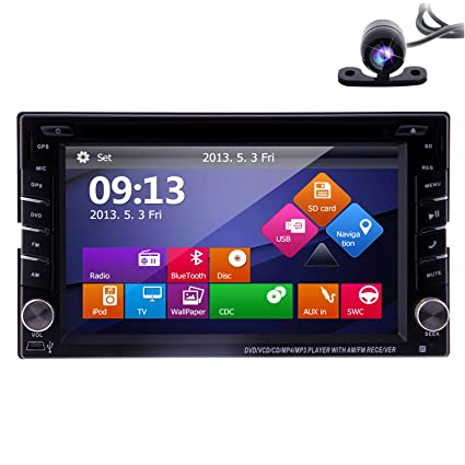 2017 EinCar Car Stereo with Android 6.0 OS Double 2 Din 6.2 HD Touchscreen