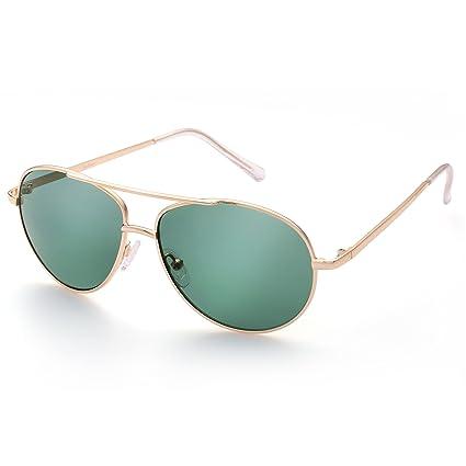 bc8c10be1a630 LotFancy Aviator Sunglasses for Kids Girls Boys