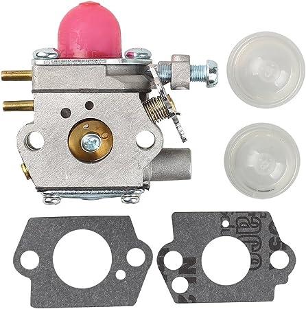 Carburetor Troy Bilt TB22EC Bolens 110 Remington RM2510 Trimmer Walbro WT 973-1