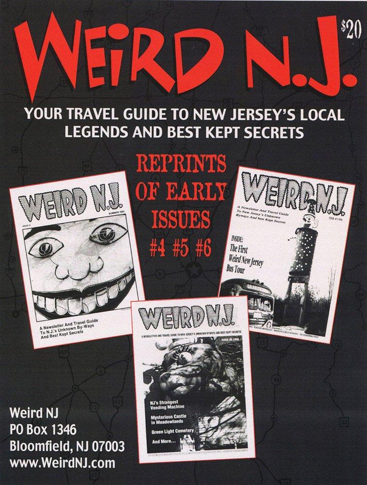 Weird New Jersey Magazine Subscription 8