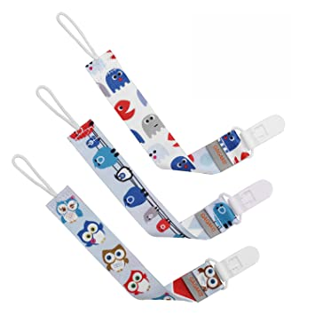 3 Pack Liname Dummy Clip for Boys Premium Quality  Modern 2-Sided Design