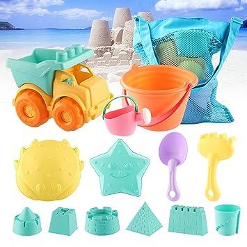 Amazon.com: MIFXIN - Juego de juguetes de arena para la ...