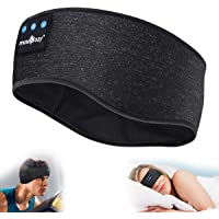 MUSICOZY Sleep Headphones Bluetooth Sports Headband, Wireless Music Headband Headphones, IPX6 Waterproof Headphones with…