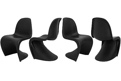 Set da sedia ergo chair materiale durevole policarbonato stile