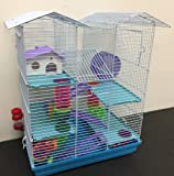 NEW Twin Towner Large Habitat Hamster Rodent Gerbil Mouse Mice Rat Wire Animal Cage