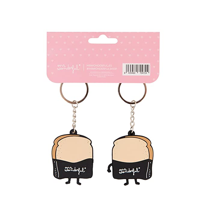 Amazon.com: Mr. Wonderful Keyring, multicoloured ...