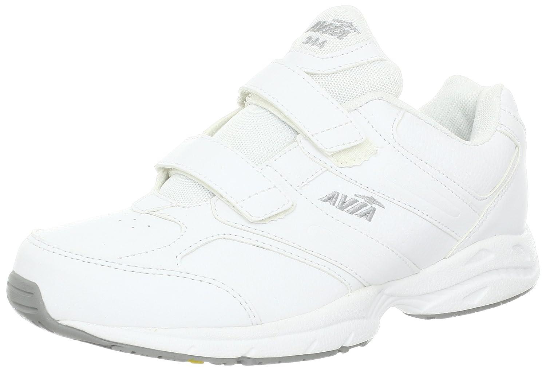 Avia Women's A344W Walking Shoe B00BDNQ5NY 7 B(M) US|White/Grey/Yellow