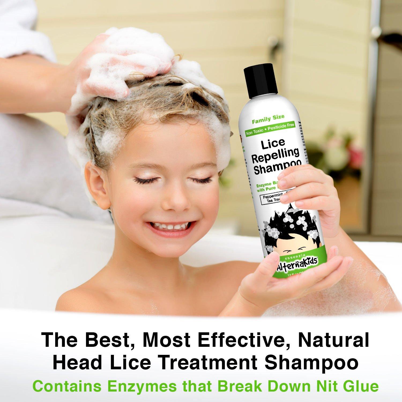 Amazon Natural Head Lice Shampoo By Alternakids Non Toxic