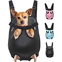 Henkelion Dog Carrier Backpack Front Pack, Pet Carrier Back Pack for Small Medium Cat Puppy Doggie, Dog Body Carrying…