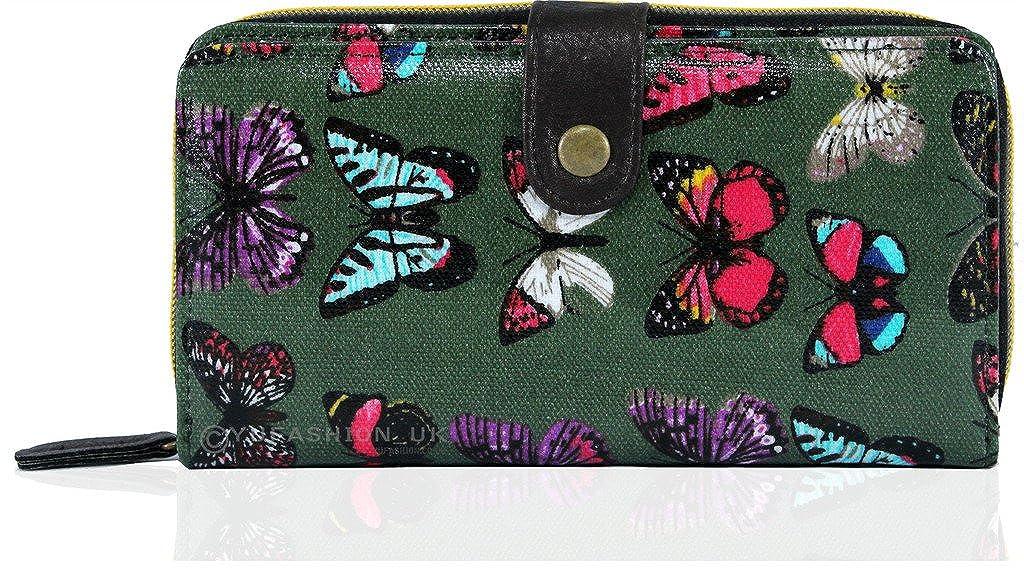KukuBird Schmetterling Muster einzige Fach Geldbö rsen & Geldbeutel Doppelfach
