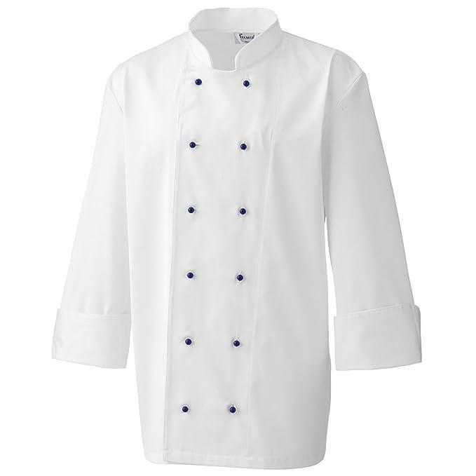 Premier - Bottoni Automatici per Giacca da Chef (12 pezzi) (Taglia unica) 369bd06b299c