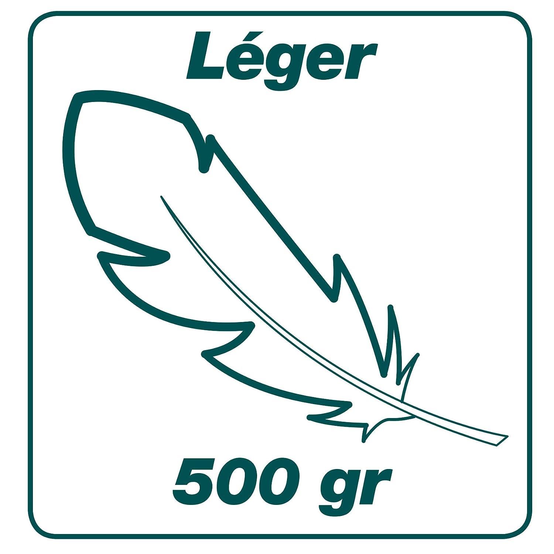Largeur: 52 cm R/ésistant et l/éger Acier Leborgne Balai /à gazon Xfil Manche: 150 cm 20 dents plates