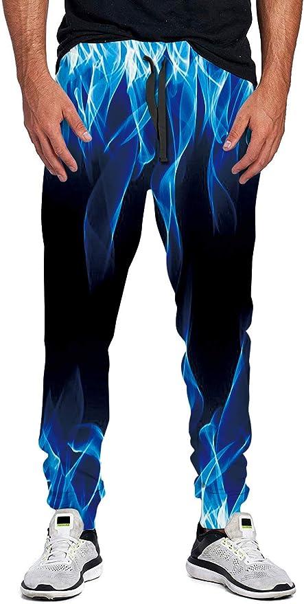 LKJDIE Unisex Joggers Sweatpants Printed 3D Casual Pants Outfit Clothes Jogging
