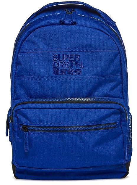 Superdry Hombre M91010DQ Mochila Turquesa Size: 34x45x15 cm (W x H x L): Amazon.es: Zapatos y complementos
